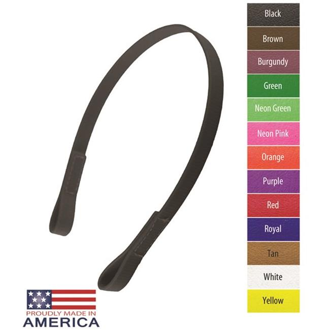Feather-Weight FW3165-PU Beta Halter Brow Band, Purple - 0.75 in. - image 1 de 1