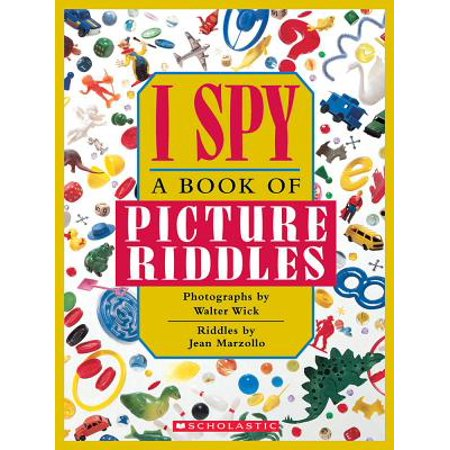 I Spy : A Book of Picture Riddles](Halloween Childrens Riddles)