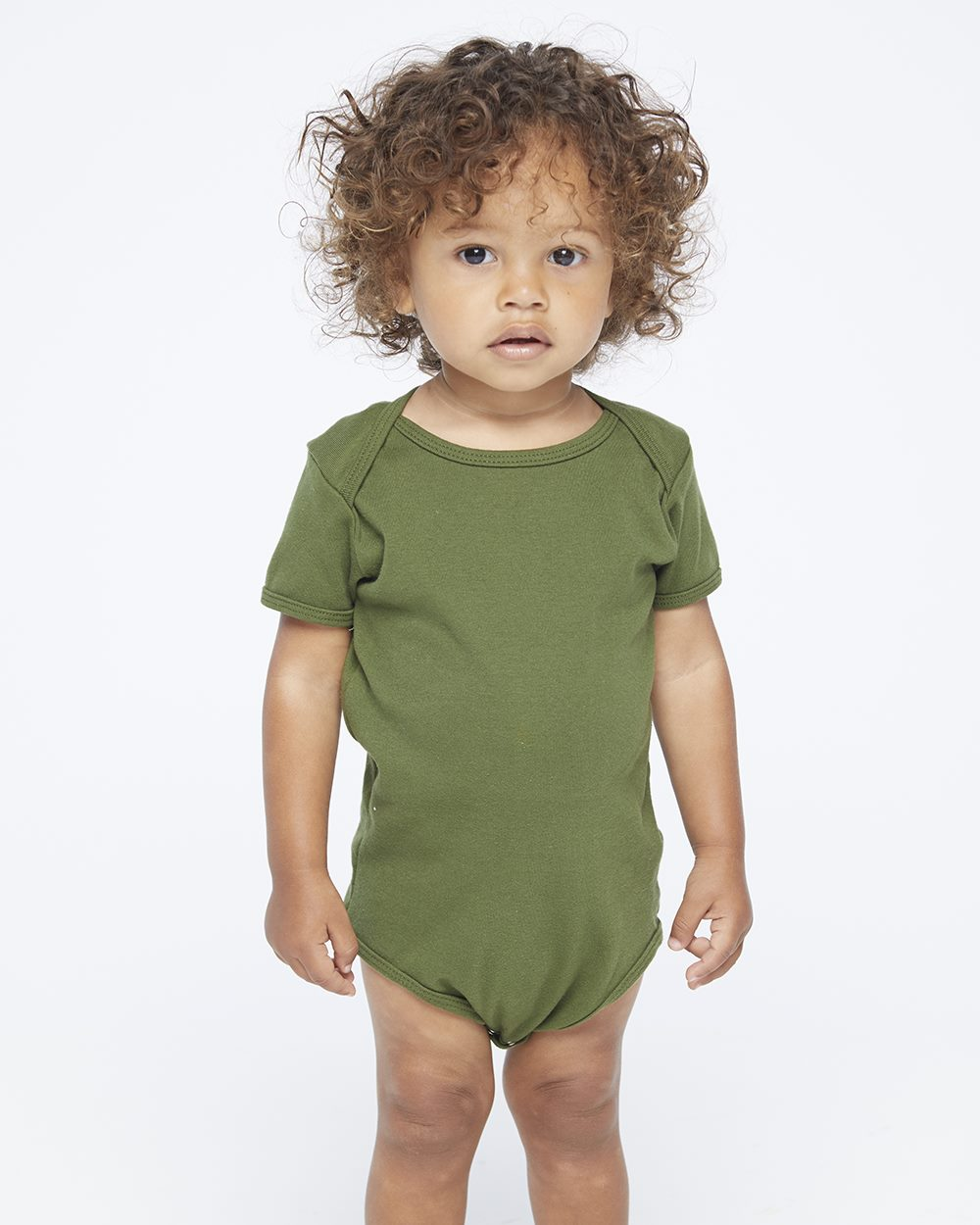 American Apparel Infant Baby Rib One Piece