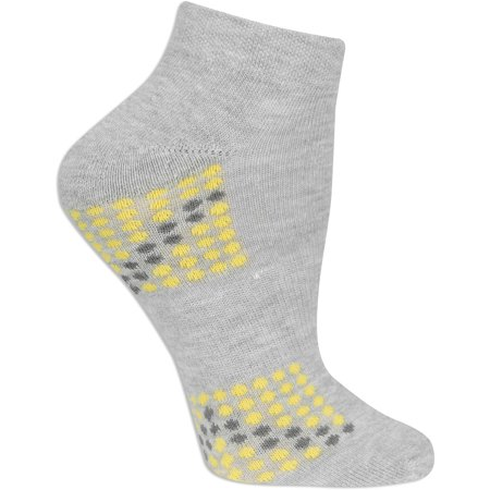 Ladies Arch Support Low Cut Socks - 6 Pair