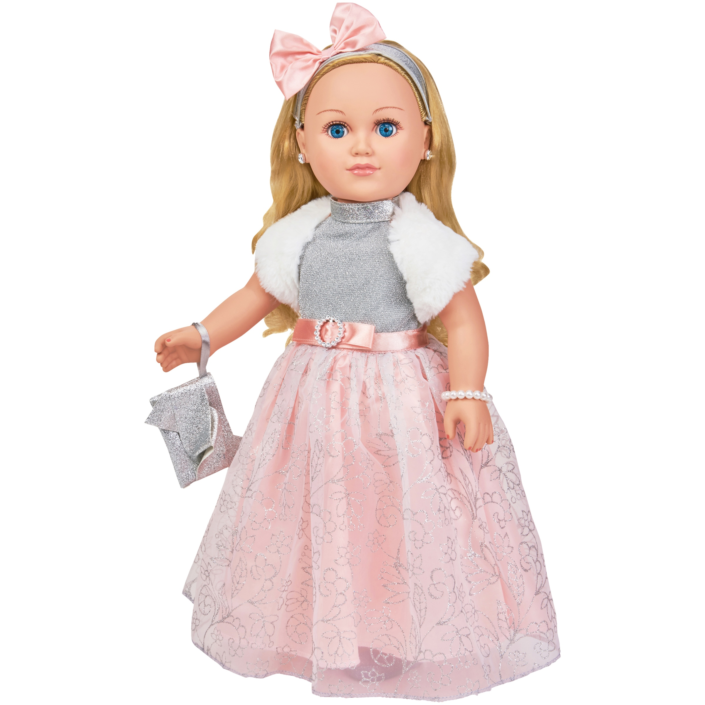 "My Life As 18"" Poseable Winter Princess Doll, Blonde Hair with a Soft Torso"