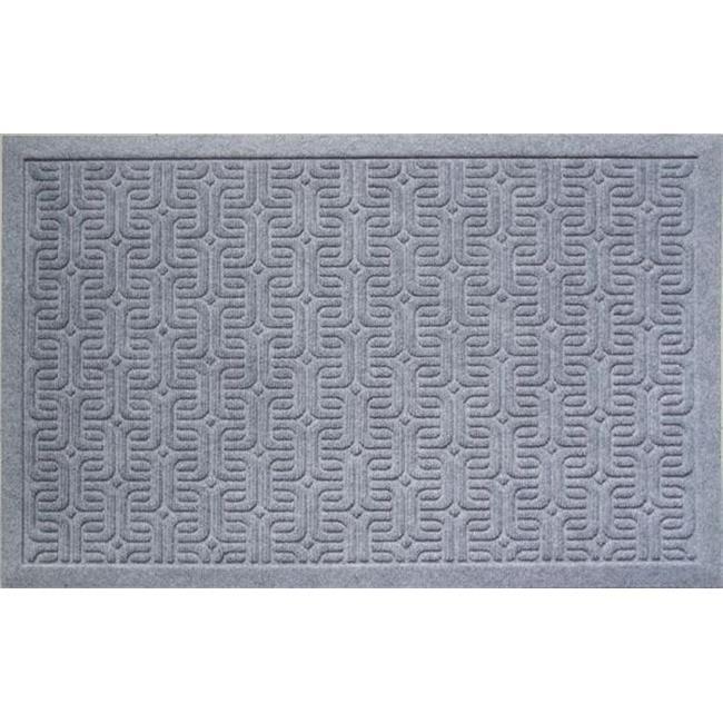 22 x 35 in. Geometric Pattern Weather Beater Polypropylene Mat - image 1 of 1