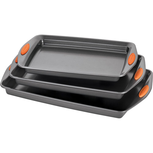 Rachael Ray 3-Piece Cookie Pan Set