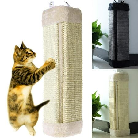 """Meigar 19"""" Cat Scratching Board Pet Wall Corner Scratch Board Mat Post Tree Scratcher Sisal Toys Pet Supplies"""