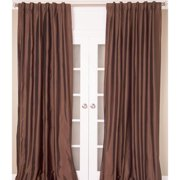 Room with a View Faux Silk Taffeta Curtain Panel