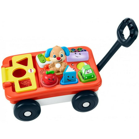 Fisher-Price Laugh & Learn Pull & Play Learning Wagon (Fisher Price Musical Lion Walker)