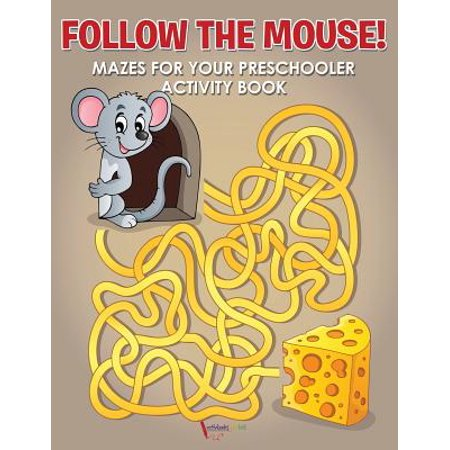 Follow the Mouse! Mazes for Your Preschooler Activity Book](Halloween Safety Activities For Preschoolers)