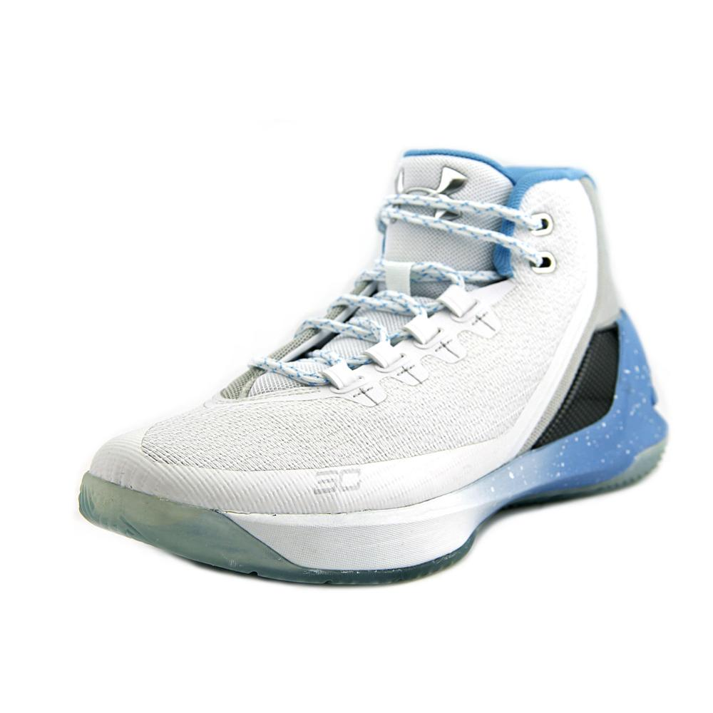 Under Armour GS Curry 3   Round Toe Canvas  Basketball Shoe