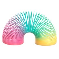 Plastic Rainbow Spring Toy Party Favors, 8ct