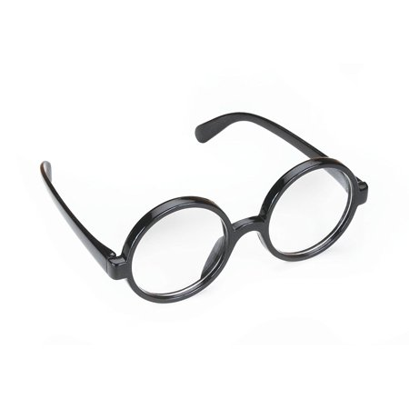 Star Power Men Wizard Quality Round Frame Glasses, Black, One Size (2in Lenses), Perfect for a wizard costume! By Loftus](Wizard Staffs For Sale)