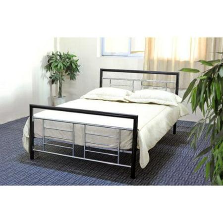 hodedah import hodedah metal bed frame. Black Bedroom Furniture Sets. Home Design Ideas