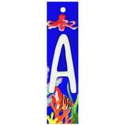 En Vogue NA-011 Aquarium Series A - Decorative Ceramic Art Tile - House Number - 2 in.x8.5 in.En Vogue