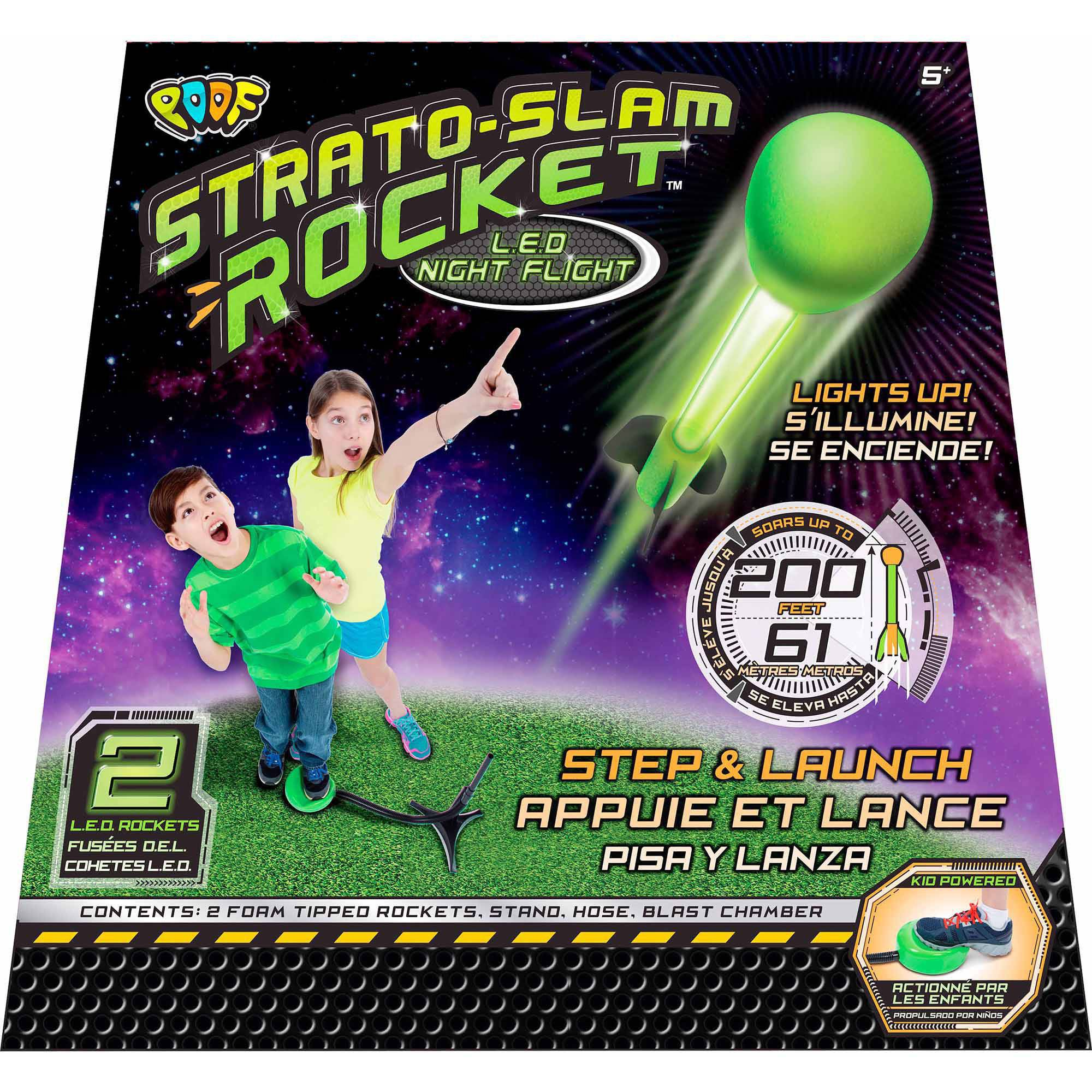 POOF Strato Slam Rocket LED Night Flight by POOF-Slinky, Inc.