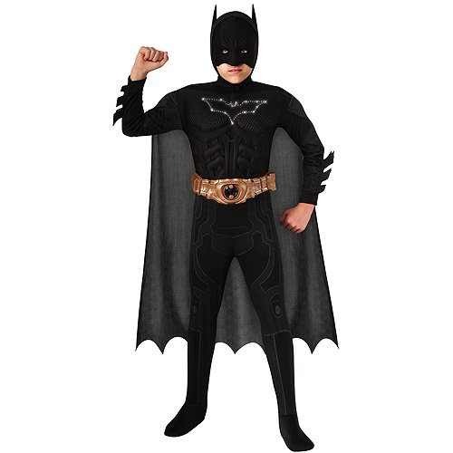 Boy's Light-up Batman Child Halloween Costume