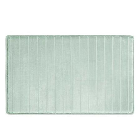 Ultimate Luxury Softlux Memory Foam Bath Rug 34 Inch X 21 Seagl By Microdry Com