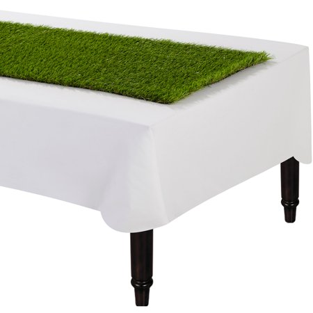 Grass Table Runner, Looks like Green Grass, 59 Inches by 16 Inches - Grass Table Runner