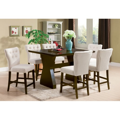 Darby Home Co Meyersdale 6 Piece Counter Height Dining Set