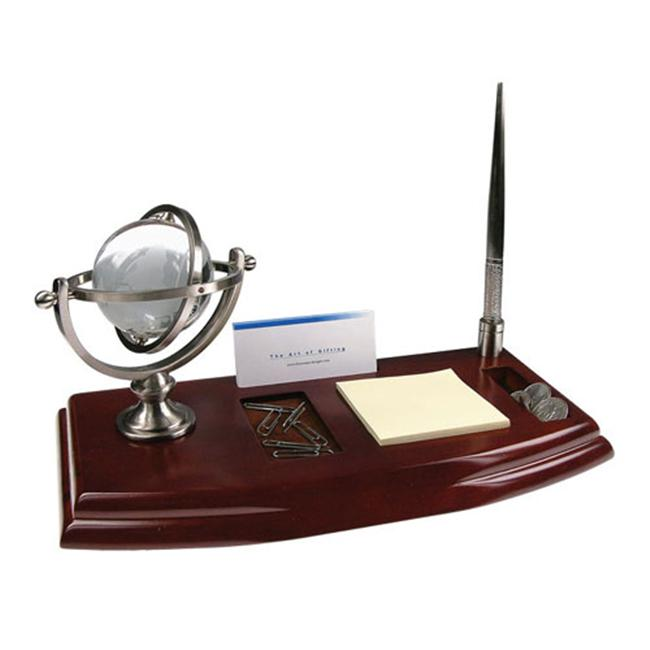 Bluestone Designs W006N Desk Organizer with Globe