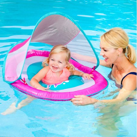 Swimways Baby Infant Spring Float Canopy - - Baby Spring Float Sun Canopy