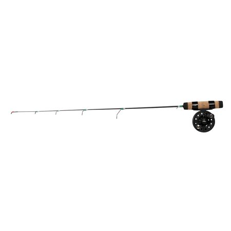 Frabill straight line 101 27 quick tip ice fishing combo for Ice fishing pole walmart