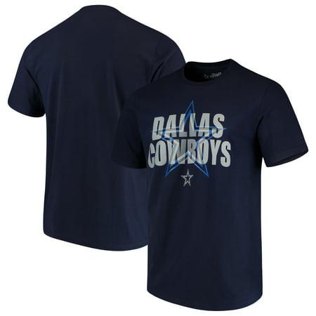 Men's Navy Dallas Cowboys Dimensional T-Shirt - Cowboy Outfit For Men
