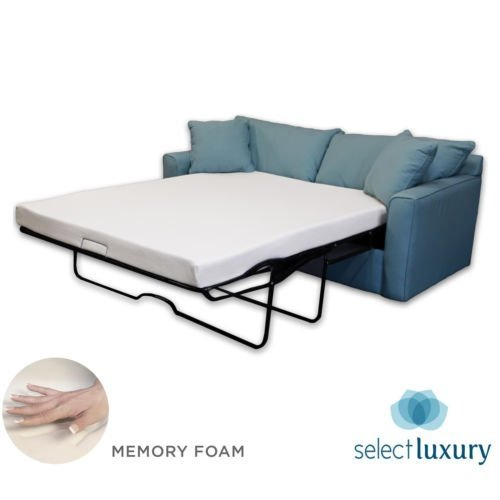 New Life 4.5in Memory Foam Mattress Pullout Bed for Sleeper Sofa (Queen) - Mattress ONLY