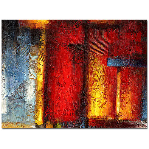 "Trademark Fine Art ""Ice and Fire"" Canvas Art by Ricardo Tapia, 24"" x 32"""