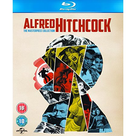 Alfred Hitchcock - The Masterpiece Collection - 14-Disc Box Set ( The Birds / Family Plot / Frenzy / The Man Who Knew Too Much / Marnie / Rear Window / S [ Blu-Ray, Reg.A/B/C Import - United Kingdom ] - Halloweentown Marnie