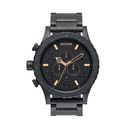 Men's A083957 51-30 Black Stainless Steel Chrono Watch ()
