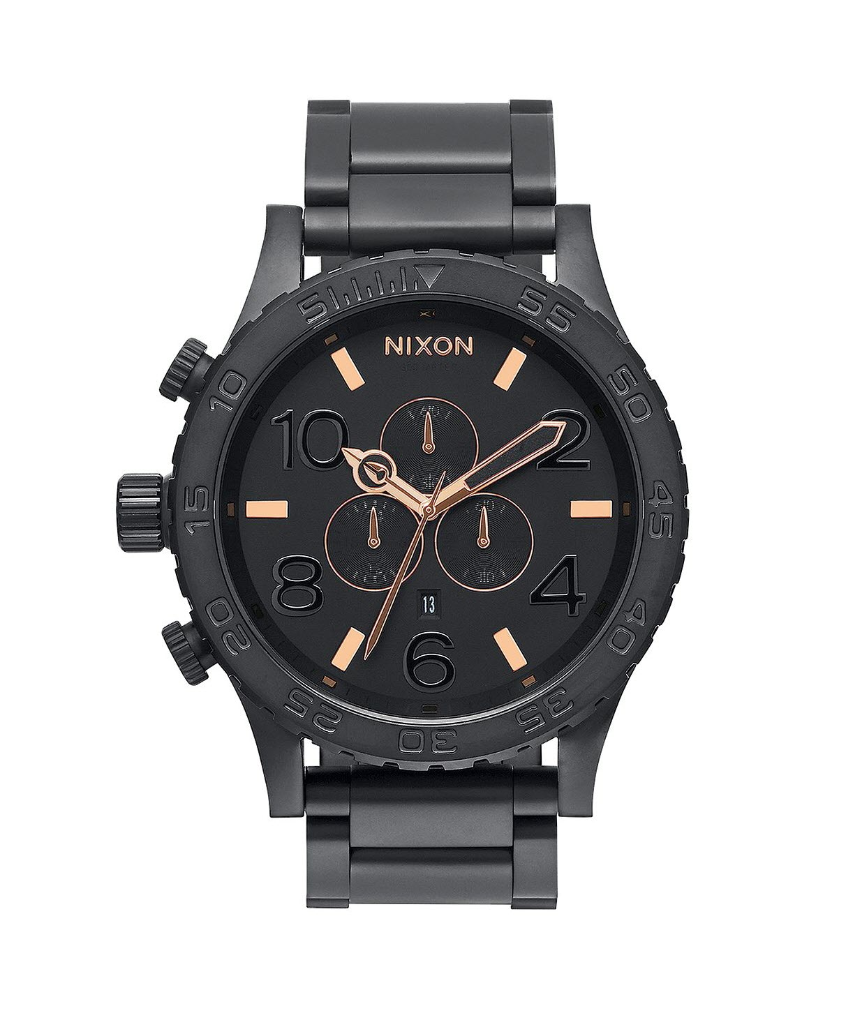 Men's A083957 51-30 Black Stainless Steel Chrono Watch