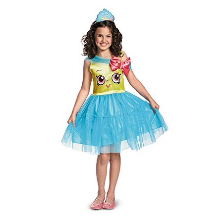 Shopkins Cupcake Queen Child Halloween Costume, Small (4-6)