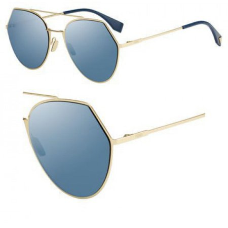 b1c973c1847 ... UPC 762753291783 product image for Fendi Eyeline Pilot Sunglasses  FF0194S 000 2A 55