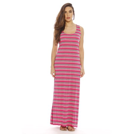 04df1e7cbc62 Just Love - Plus Size Summer Dresses   Maxi Dress (Fuchsia