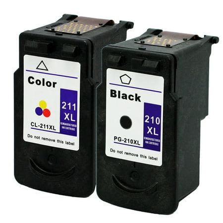 E Z Ink Remanufactured Canon PG210 CL211 PG210XL CL211XL PG 210XL CL 211XL 210 211 HY 1 Black Color For MX320 MX330 MX340 MX350