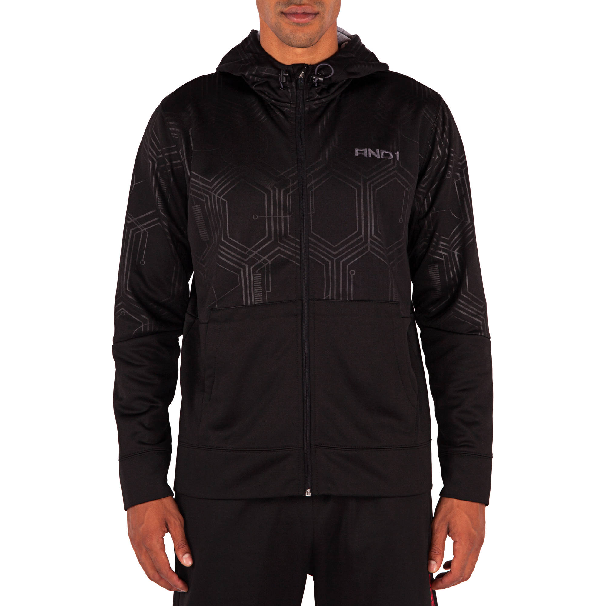 And1 Big Men's The Mechanics Performance Tech Hoodie
