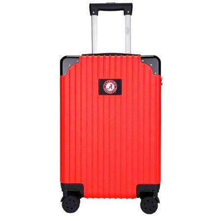 Alabama Crimson Tide Premium 21'' Carry-On Hardcase Luggage - Red