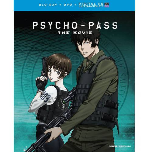 Psycho-Pass The Movie (Blu-ray + DVD + Digital HD) (With INSTAWATCH)