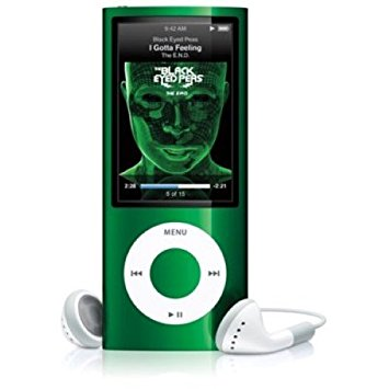 Apple iPod Nano 5th Genertion 8GB Green, Pre-owned , Like New Condition.