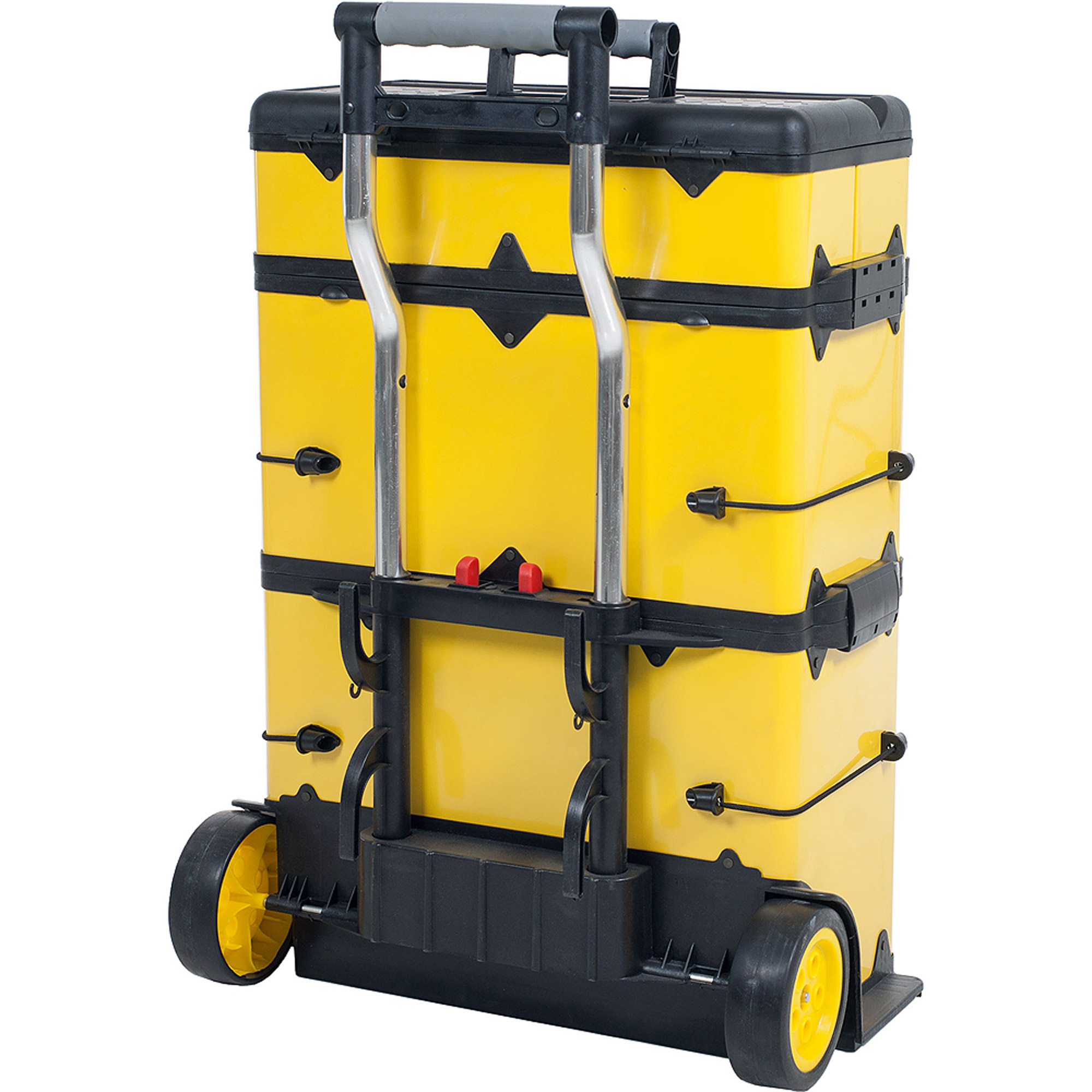 Superb Stalwart Rolling Stacking Portable Metal Trolley Toolbox Chest   Walmart.com