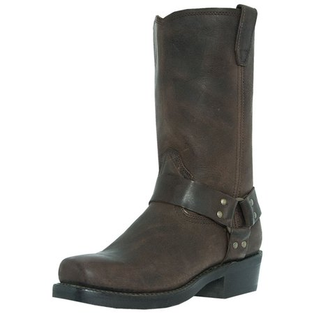 Dingo Motorcycle Boots Mens Jay Harness Gaucho Nutty Mule DI19074 ()