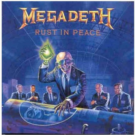 Rust in Peace (CD) (Remaster) (The Best Rust Converter)