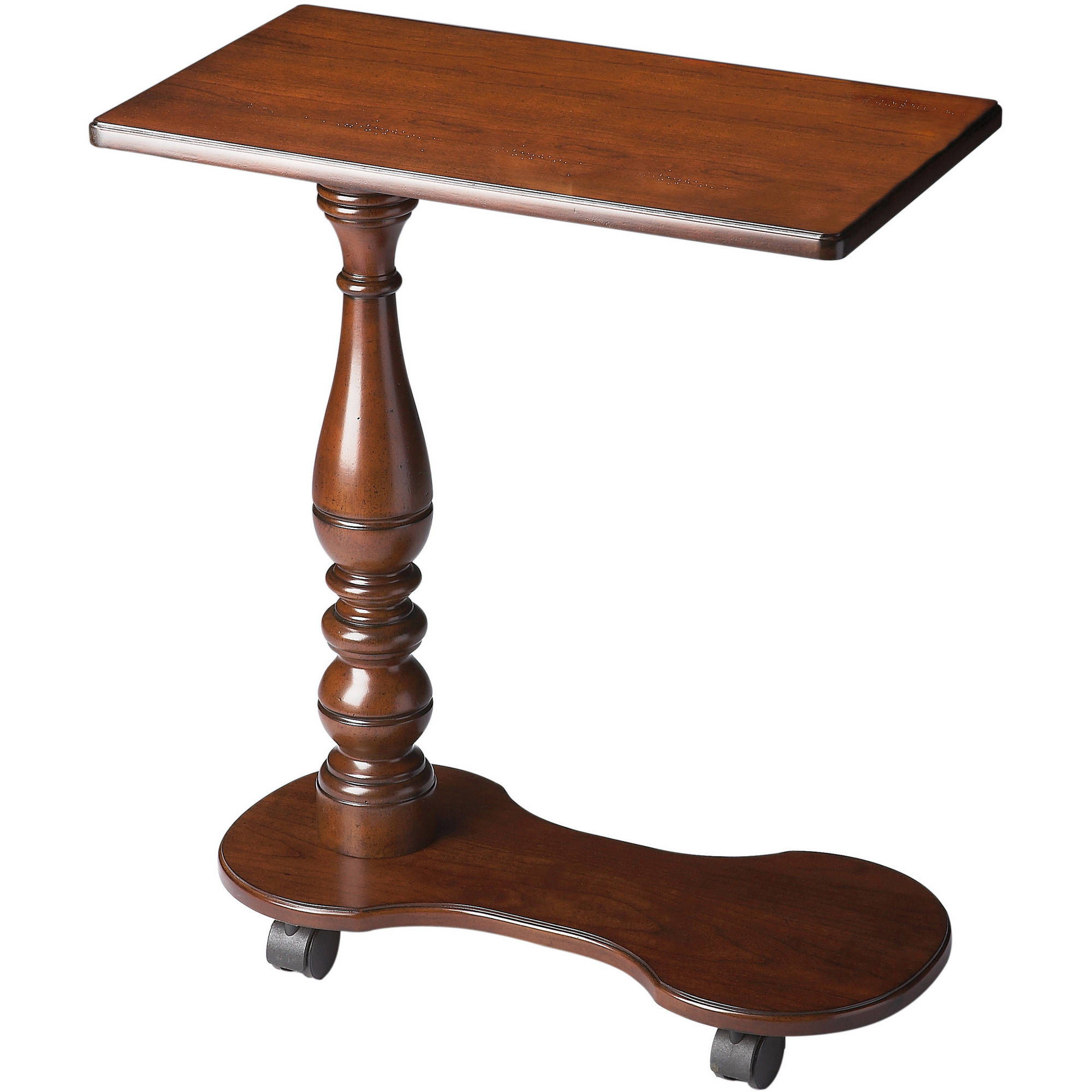 Butler Mabry Olive Ash Burl Mobile Tray Table