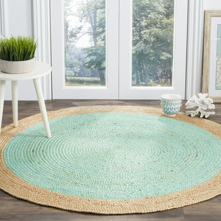 Transitional Wool Natural Rug (Safavieh Natural Fiber Cebrail Braided Area)