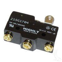 EZGO TXT & Marathon Golf Cart 3 Terminal Micro Switch with Roller [Sports] By Golf Cart King