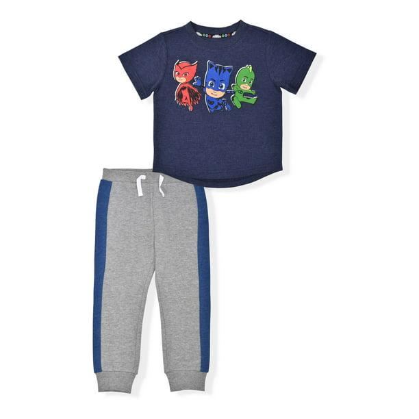 PJ Masks - Toddler Boys Short Sleeve Hero T-Shirt