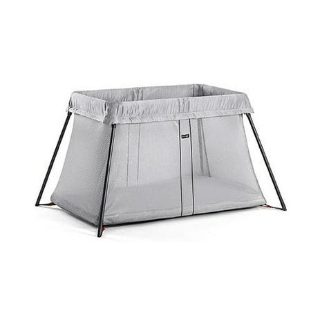5002d9535a7 BabyBjorn Travel Crib Light - Silver - Walmart.com