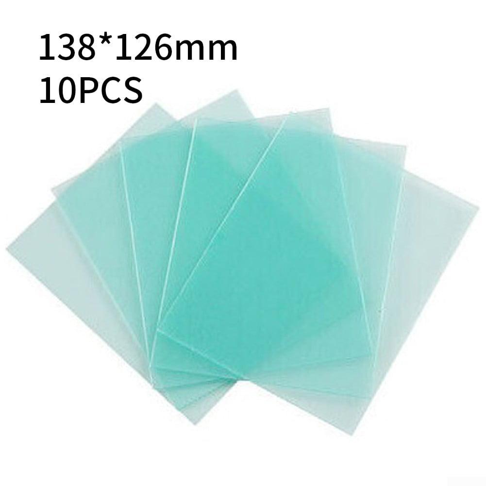 10pcs 4 Sizes Transparent Welding Cover Lens Eye Protector Plate For Helmet Mask
