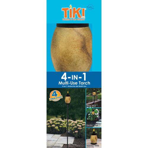 Tiki 4-in-1 Travertine Torch