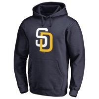 San Diego Padres Team Color Primary Logo Pullover Hoodie - Navy