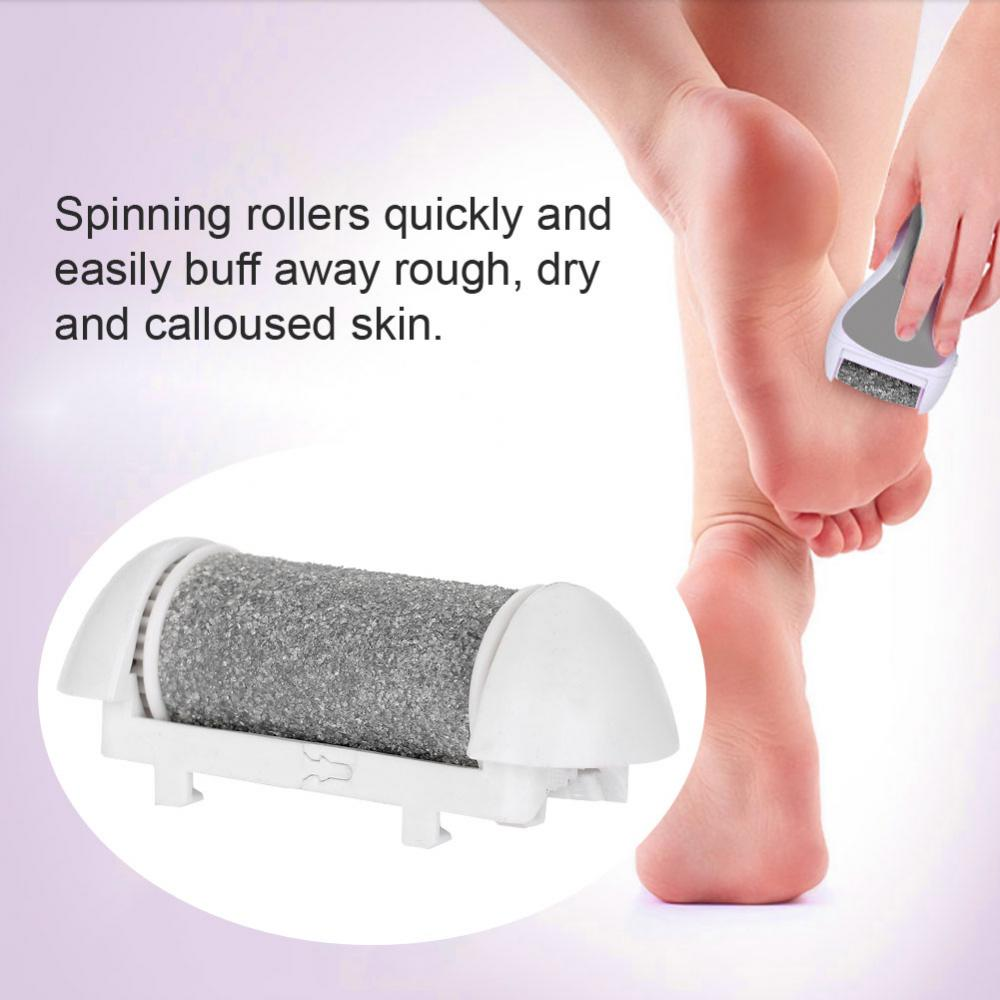 Rechargeable Electronic Foot File Professional Feet Care Perfect Wet & Dry Rechargeable Foot File Callous Remover Head